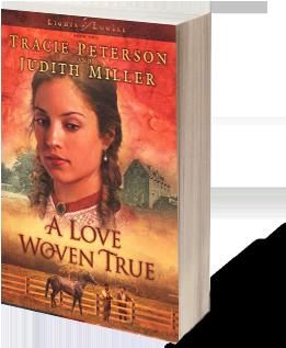 A Love Woven True - Judith Miller